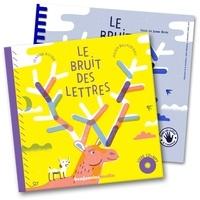 Jeanne Boyer et Julien Billaudeau - Le bruit des lettres. 1 CD audio MP3