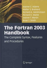 Cjtaboo.be The Fortran 2003 Handbook - The Complete Syntax, Features and Procedures Image