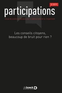 Jeanne Demoulin et Marie-Hélène Bacqué - Participations N° 24, 2019/2 : Les conseils citoyens, beaucoup de bruit pour rien ?.
