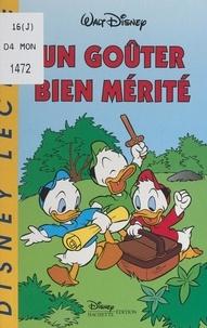 Jeanne Failevic et  Walt Disney - Un goûter bien mérité.