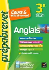 Jeanne-France Bignaux et Wilfrid Rotgé - Anglais 3e (A2-B1) - Prépabrevet Cours & entraînement - fiches de cours, entraînement écrit et oral.