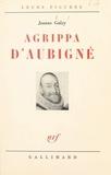 Jeanne Galzy - Agrippa d'Aubigné.