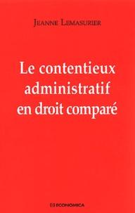Le contentieux administratif en droit comparé - Jeanne Lemasurier | Showmesound.org