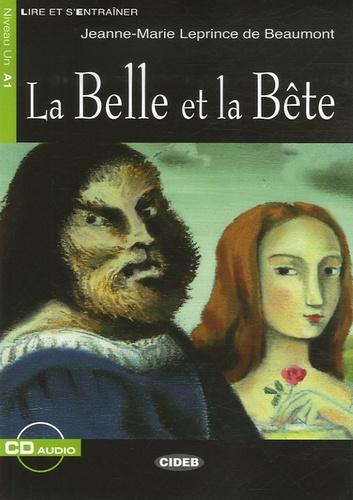 La Belle et la Bête  avec 1 CD audio