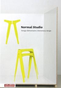 Jeanne Quéheillard - Normal studio, Design élémentaire - Edition bilingue anglais-français.