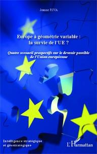 Rhonealpesinfo.fr Europe à géométrie variable : la survie de l'UE ? - Quatre scénarios prospectifs sur le devenir possible de l'Union européenne Image