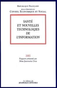 Jeannette Gros - Santé et nouvelles technologies de l'information.