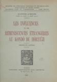 Jeannine Auboyer et Georges Salles - Les influences et les réminiscences étrangères au Kondo du Horyuji.