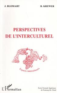 Jeannine Blomart et Bernd Krewer - Perspectives de l'interculturel.