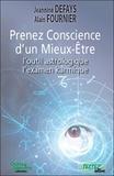 Jeannine Defays et Alain Fournier - Prenez Conscience d'un Mieux-Etre - L'outil astrologique, l'examen karmique.