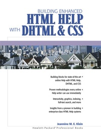 Building enhanced HTML Help with DHTML & CSS.pdf