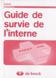 Jed Katzel - Guide de survie de l'interne.