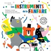 Jef Cahours de Virgile et Marion Cocklico - Les instruments de la fanfare. 1 CD audio MP3