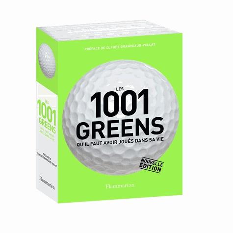 Jeff Barr - Les 1001 greens qu'il faut avoir joués dans sa vie.