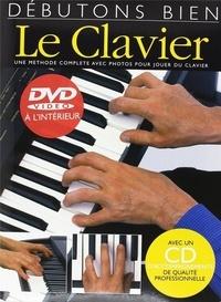 Jeff Hammer - Débutons bien le clavier. 1 CD audio