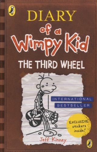 Jeff Kinney - Diary of a Wimpy Kid  : The Third Wheel.