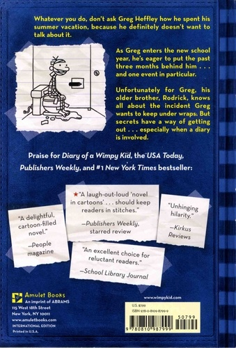 Diary of a Wimpy Kid Tome 2 Rodrick Rules