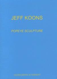 Jeff Koons - Popeye sculpture.