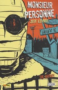 Jeff Lemire - Monsieur Personne - The Nobody.