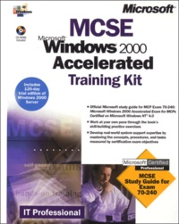 Galabria.be Windows 2000 Accelerated. MCSE Training kit, 2 CD-ROM included Image