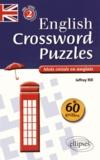 Jeffrey Hill - English Crossing Puzzles Level 2 intermédiaire - Mots croisés en anglais.