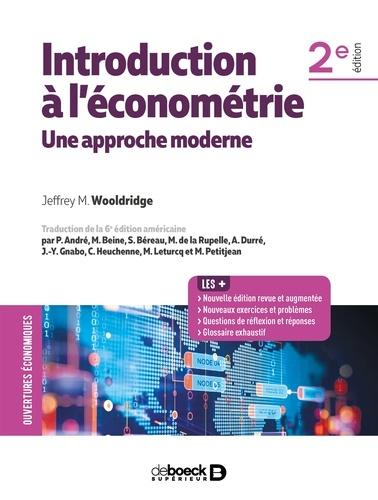 Introduction à l'économétrie - Jeffrey Wooldridge - 9782807324541 - 52,99 €