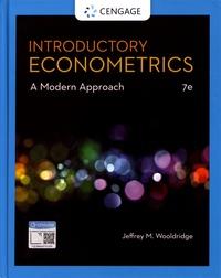 Jeffrey Wooldridge - Introductory Econometrics - A Modern Approach.