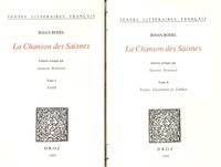 Jehan Bodel - La Chanson des Saisnes - 2 volumes.