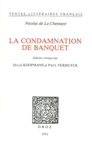 Jelle Koopmans - La condamnation de Banquet.