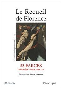 Jelle Koopmans - Recueil de Florence.
