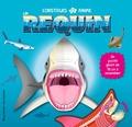 Jen Green et Mark Ruffle - Construis et anime un requin - Un puzzle géant de 96 cm à assembler.