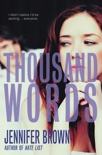 Jennifer Brown - Thousand Words.