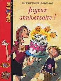 Joyeux Anniversaire Jennifer Dalrymple Jacques Azam Decitre