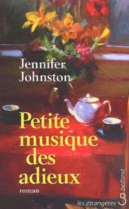 Jennifer Johnston - Petite musique des adieux.
