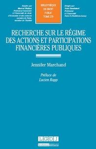 Deedr.fr Recherche sur le régime des actions et participations financières publiques Image
