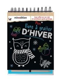 Jennifer Wilderich-Lang - Mon livre à gratter d'hiver - Avec un crayon en bois.