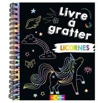 Téléchargements ebook gratuits pour Nook Tablet Mon livre à gratter licornes  - Avec un crayon en bois
