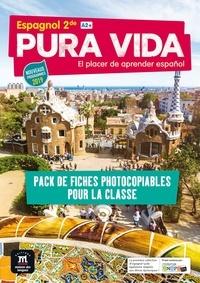 Jenny Allemand et Thomas Bailleul - Espagnol 2de A2+ Pura vida - Pack de fiches photocopiables pour la classe.