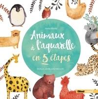 Jenny Boidol - Animaux à l'aquarelle en 5 étapes - Koala, lama, loutre & co.