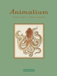 Jenny Broom et Katie Scott - Animalium - mini-livre cadeau.