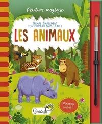 Jenny Copper et Rachael McLean - Les animaux - Avec un pinceau inclus.