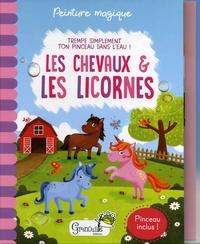 Histoiresdenlire.be Les chevaux & les licornes - Avec un pinceau inclus Image