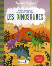 Jenny Copper et Rachael McLean - Les dinosaures - Avec un pinceau inclus.