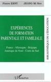 Jeong Mi-Ree et Pierre Erny - Expériences de formation parentale et familiale - France, Allemagne, Belgique, Amérique du Nord, Corée du Sud.