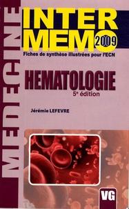 Jérémie Lefevre - Hématologie.