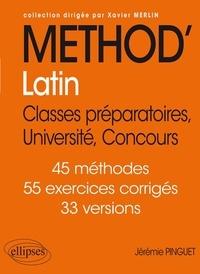 Jérémie Pinguet - Méthod'Latin - Classes préparatoires, Université, Concours.