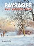 Jeremy Ford - Paysage aux pastels secs.