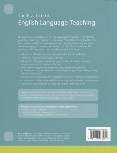 The Practice of English Language Teaching 5th edition -  avec 1 DVD