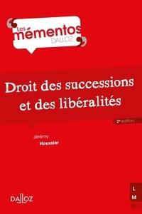 Jérémy Houssier - Droit des successions et des libéralités.
