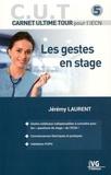 Jérémy Laurent - Les gestes en stage.